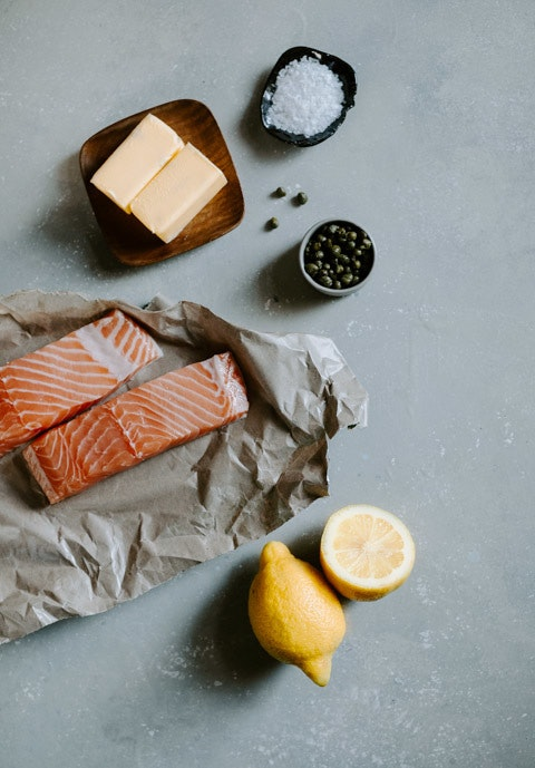 Salt Plank Salmon Compound Butter 40