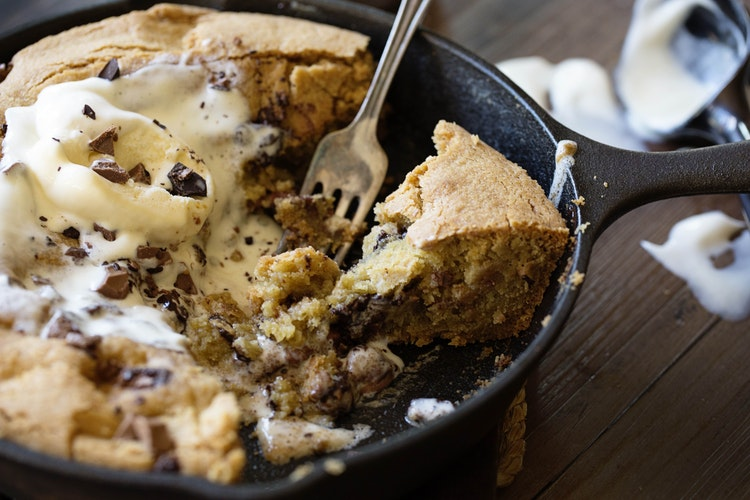 Thousand Layer Chocolate Chip Skillet Cookie Recipe