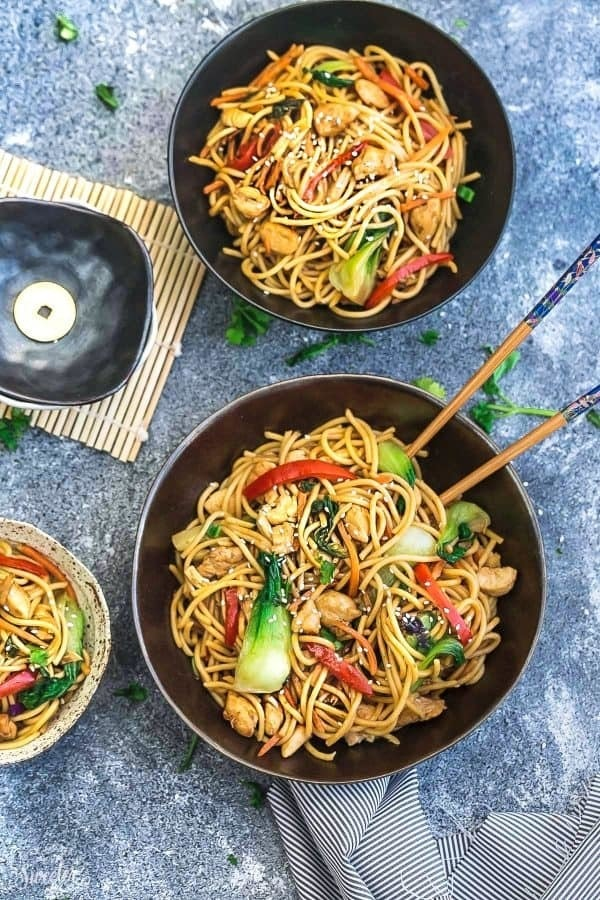 Slow Cooker Chicken Lo Mein Noodles Meal Prep Bowls Lifemadesweeter4 E1487425121984
