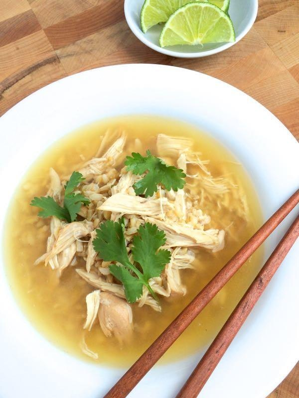 Slow-Cooker-Ginger-Chicken-and-Rice-Soup-The-Lemon-Bowl