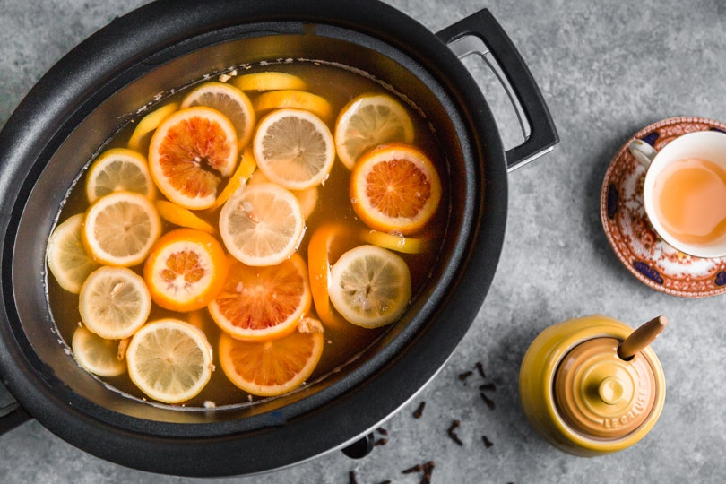 Slow Cooker Hot Toddies That Will Give You Major Cozy, Self-Care Vibes