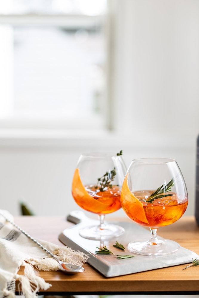 Smoky Autumn Cocktails 9