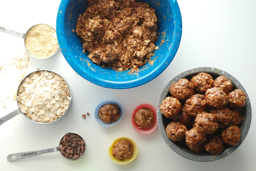 How to Make Homemade No Bake Snack Balls & Energy Bites