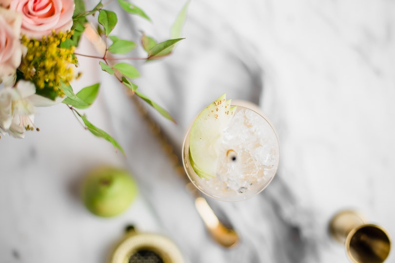 Spiced Pear Cocktails 5