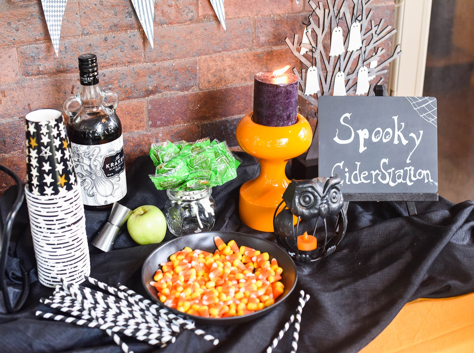Spooky Cider Station