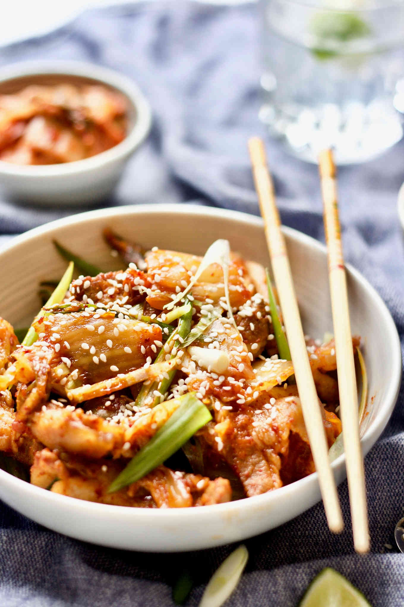 Stir Fry Kimchi Pork Belly Yangs Nourishing Kitchen 2