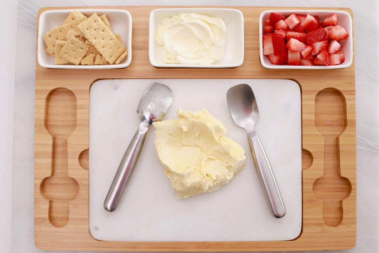 Strawberry Cheesecake Ice Cream 1 Gemma Stafford