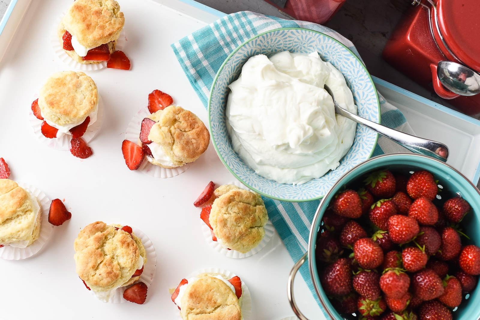 Strawberry Shortcake Sliders 10