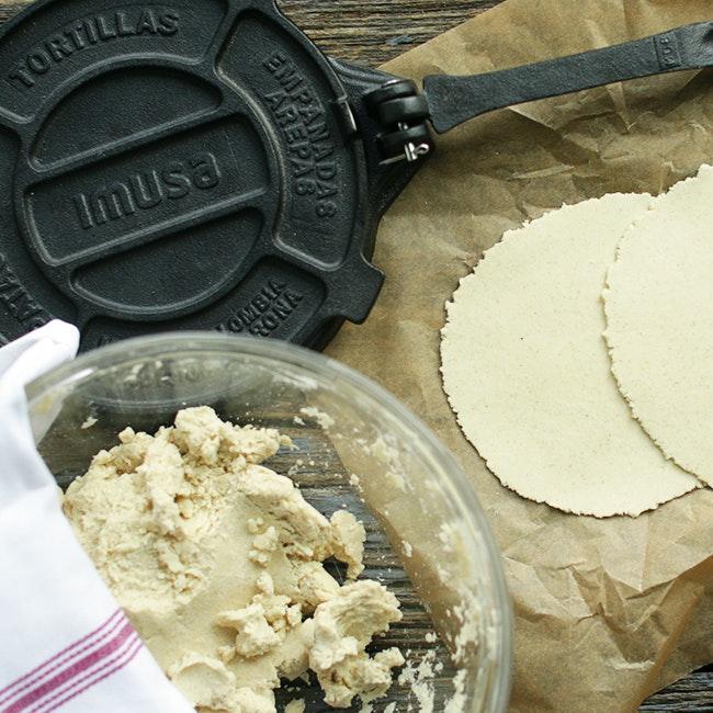 Forming Authentic Tortillas Using Tortilla Press