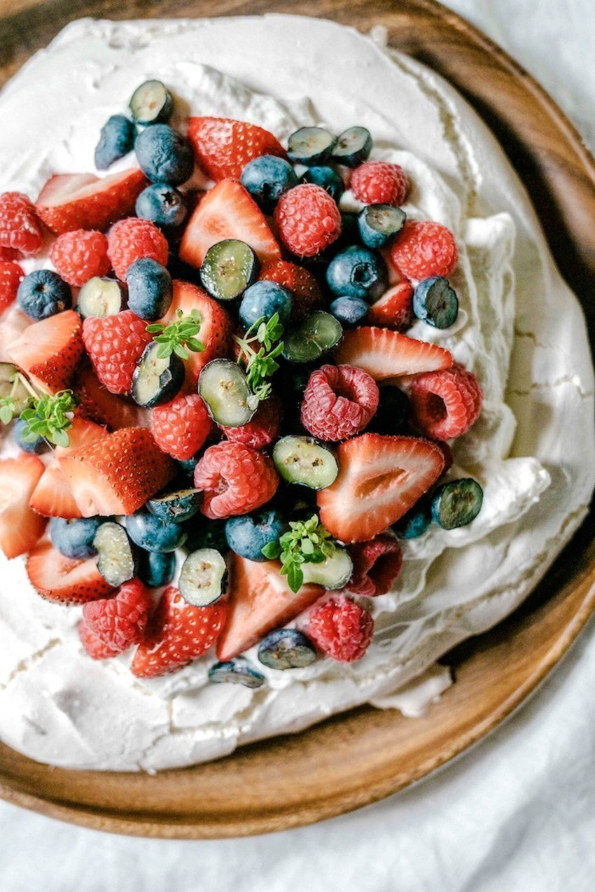 Fresh Berry Pavlova Is the Light Summer Dessert You've Been Missing