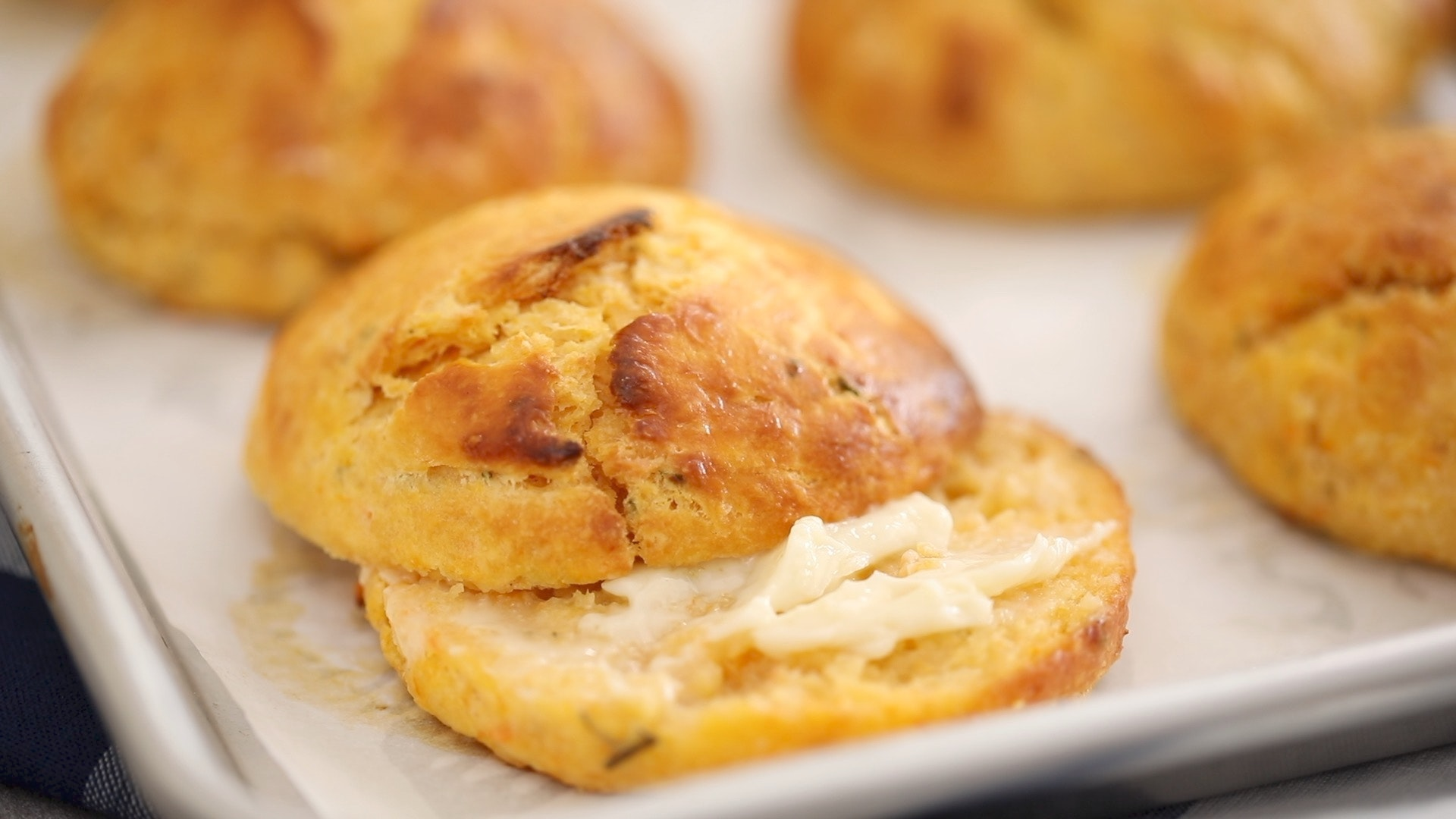 Sweet Potato Rosemary Biscuits Thumbnail