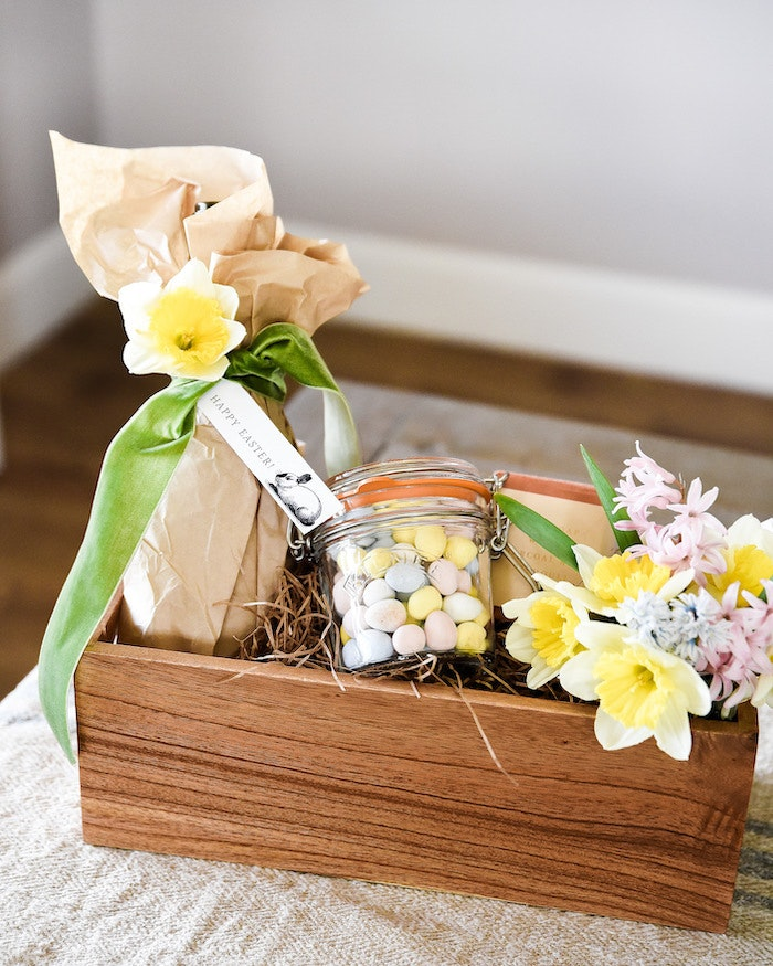 This Grown-Up Easter Basket Is the Perfect Hostess Gift
