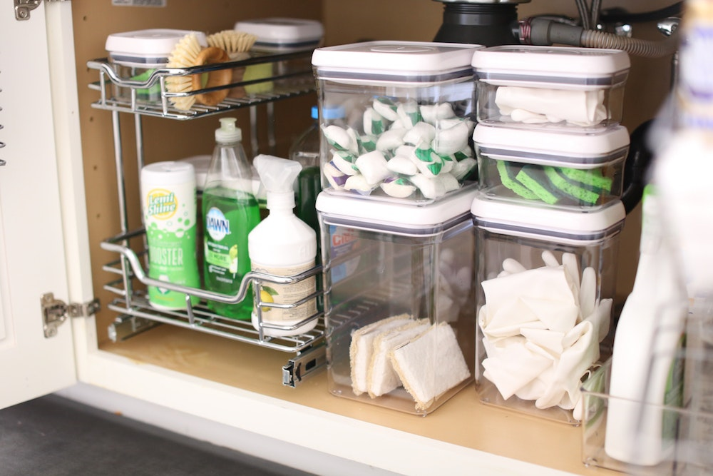 Under the Kitchen Sink Is the Next Place You Need to Organize