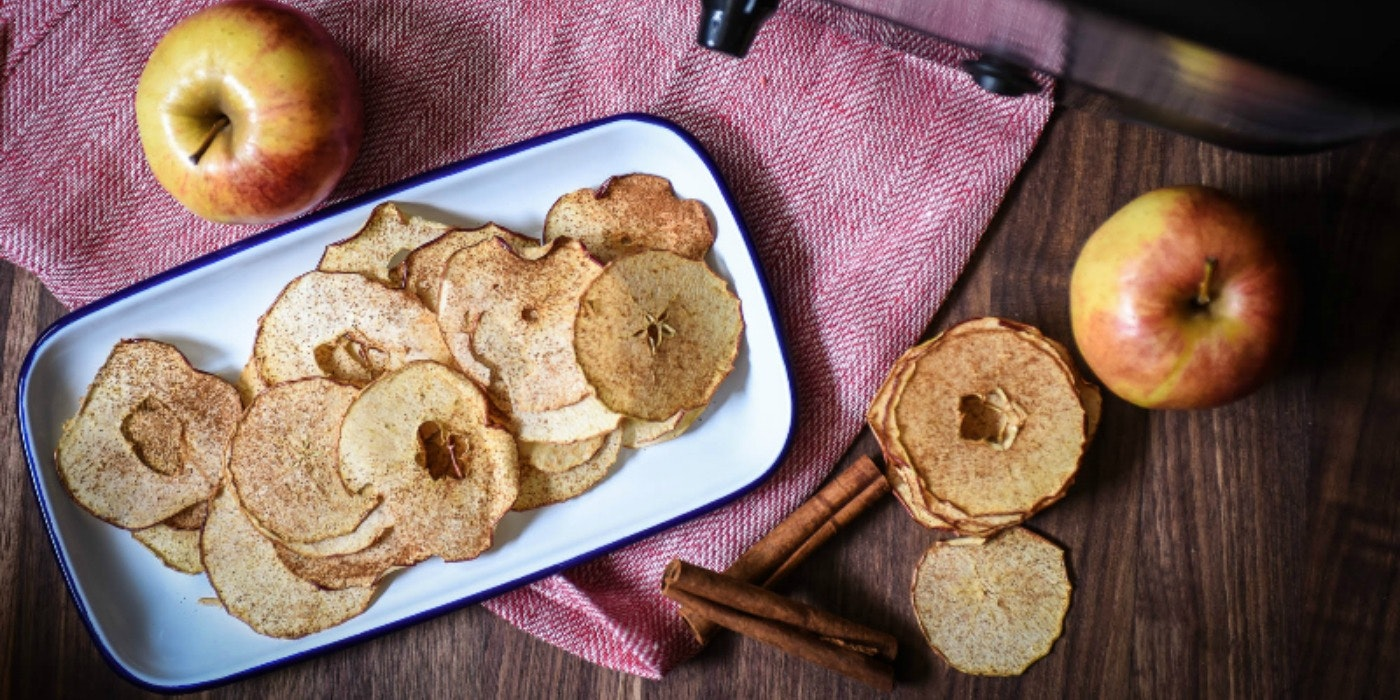 A Trip to the Orchard and Cinnamon-Dusted Apple Chips