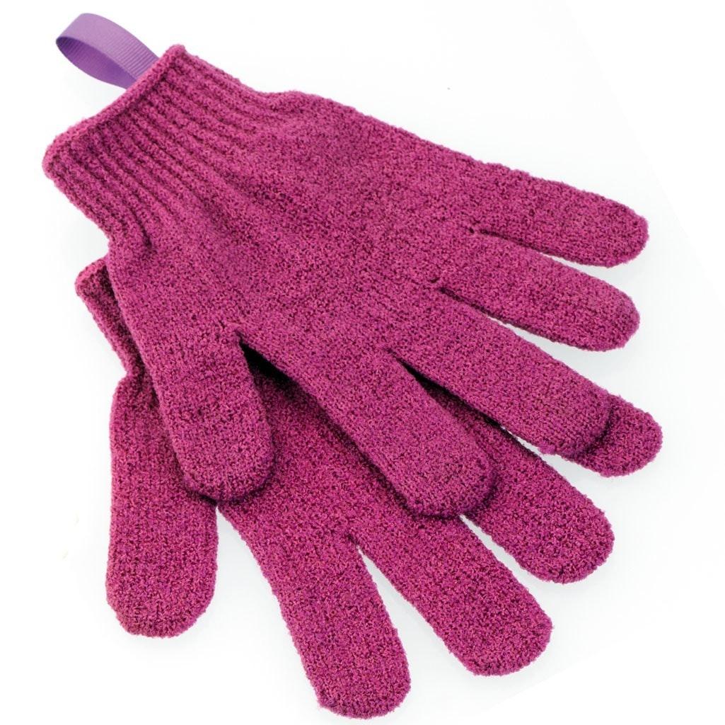Upper Canada Soap Exfoliating Shower Gloves
