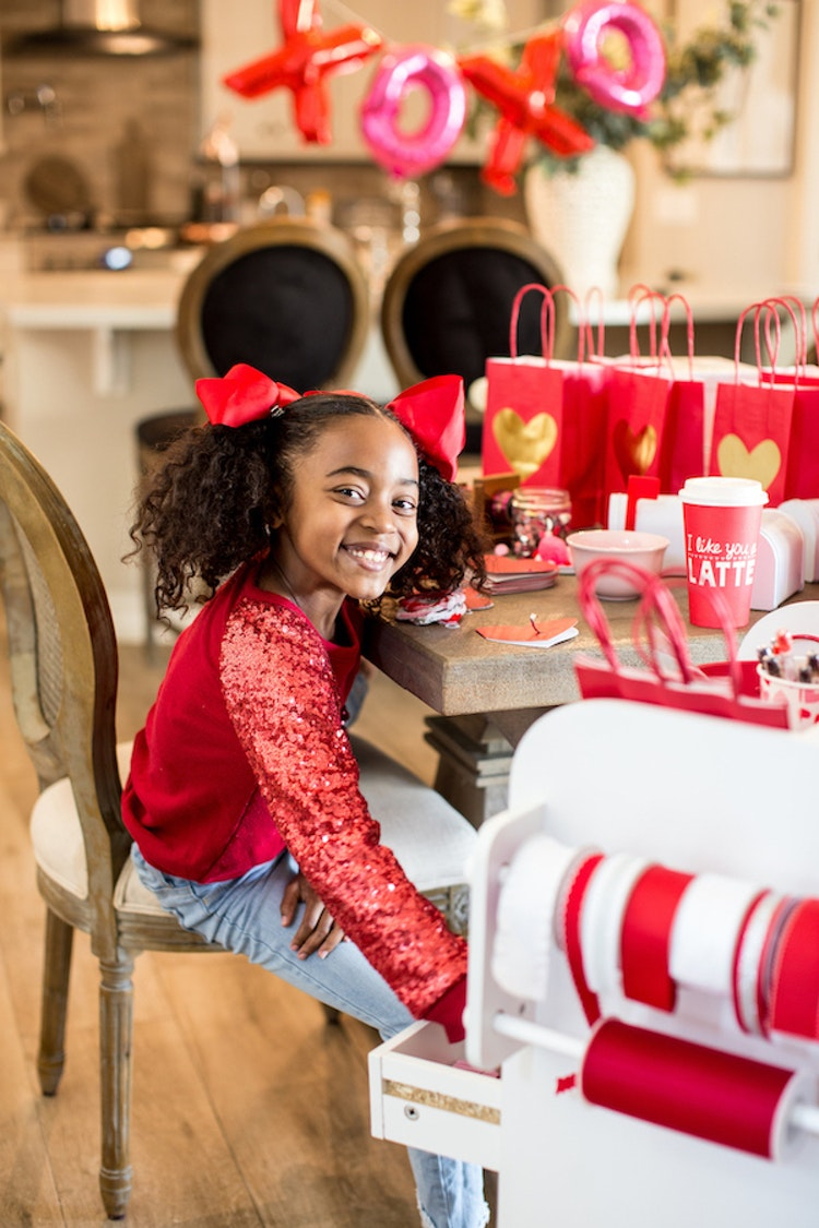 Create a Mobile Craft Station for Valentine's Day or Any Day