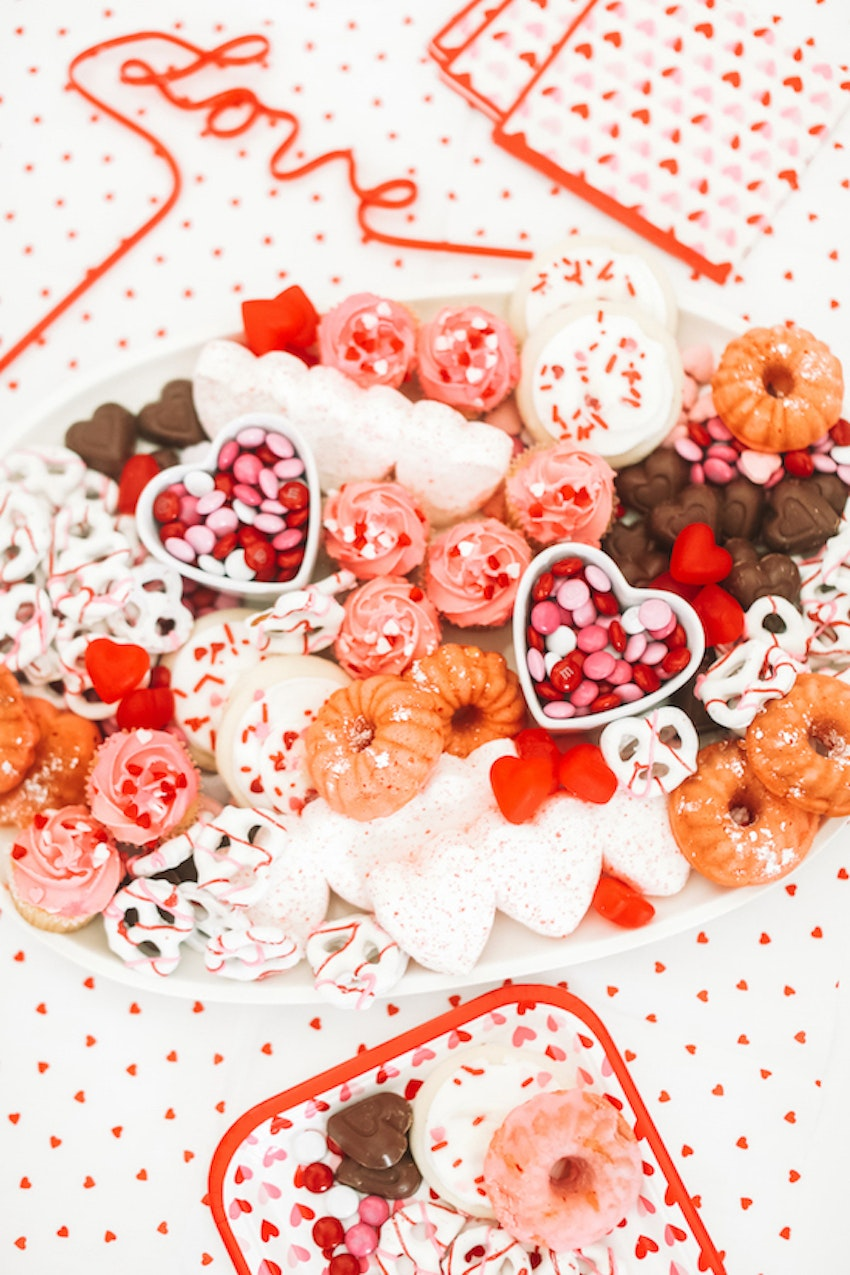 The Valentine's Dessert Platter Your Party Needs