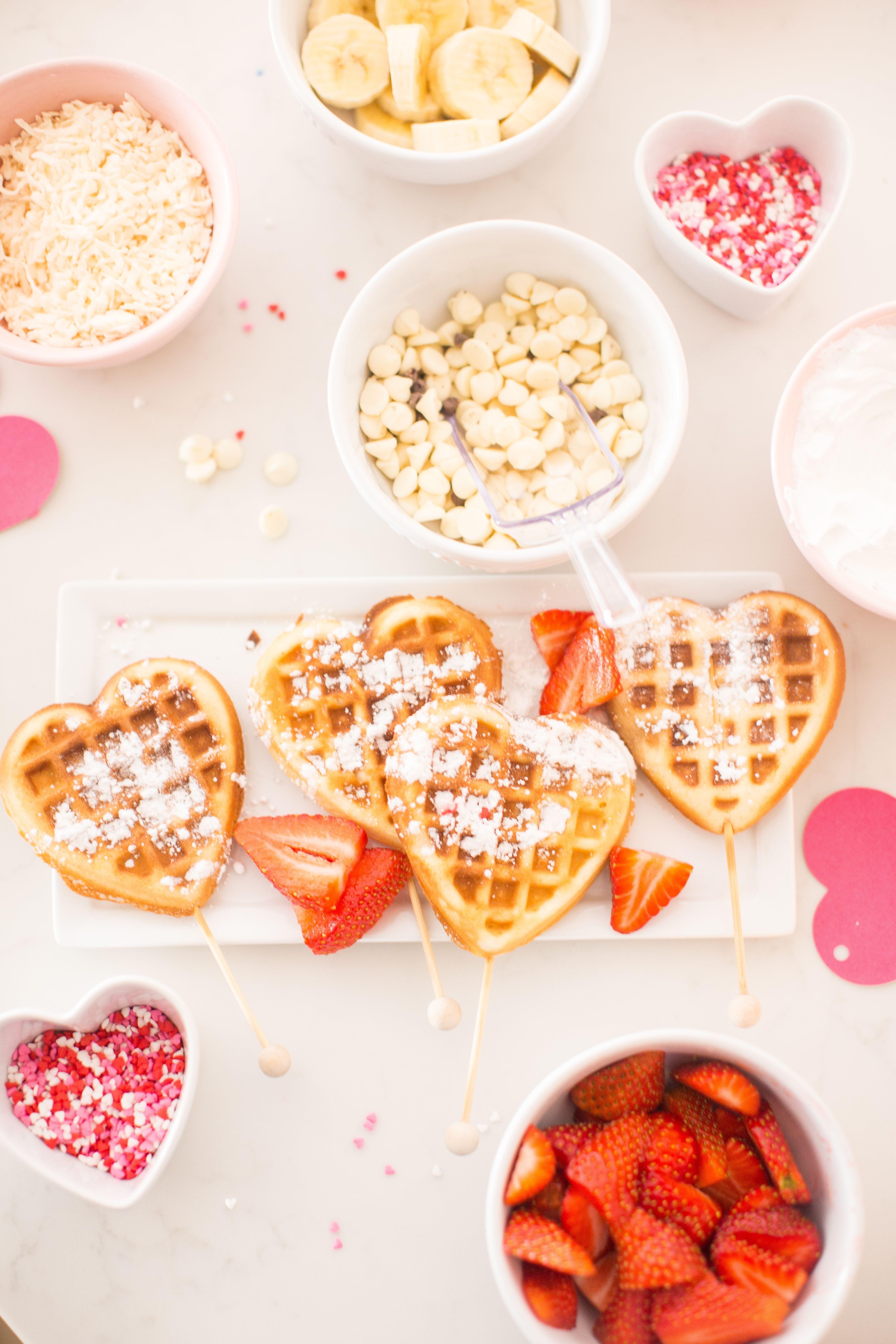 Valentines Heart Shaped Waffles Just Destiny 16 Resize