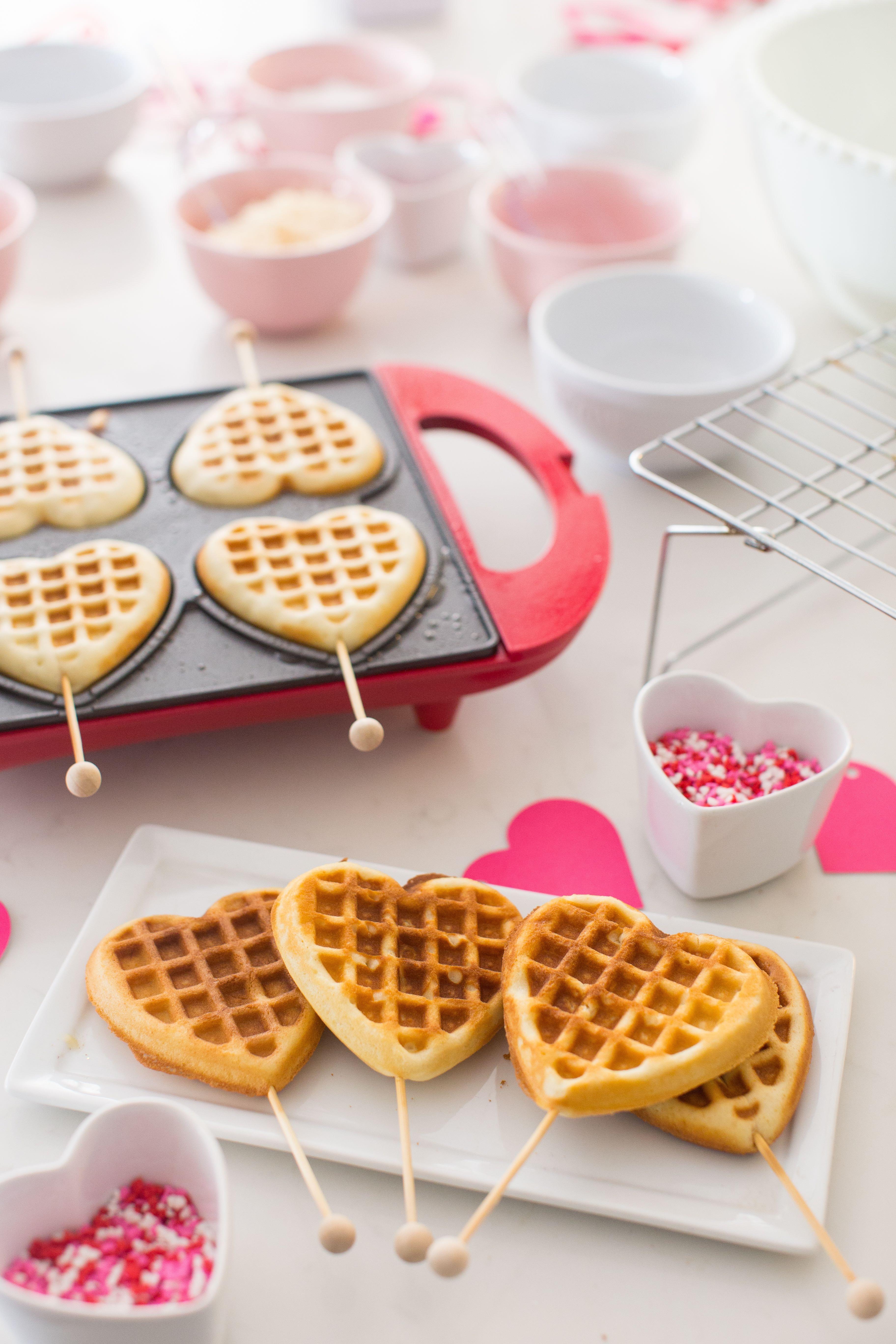 Valentines Heart Shaped Waffles Just Destiny 7 Resize