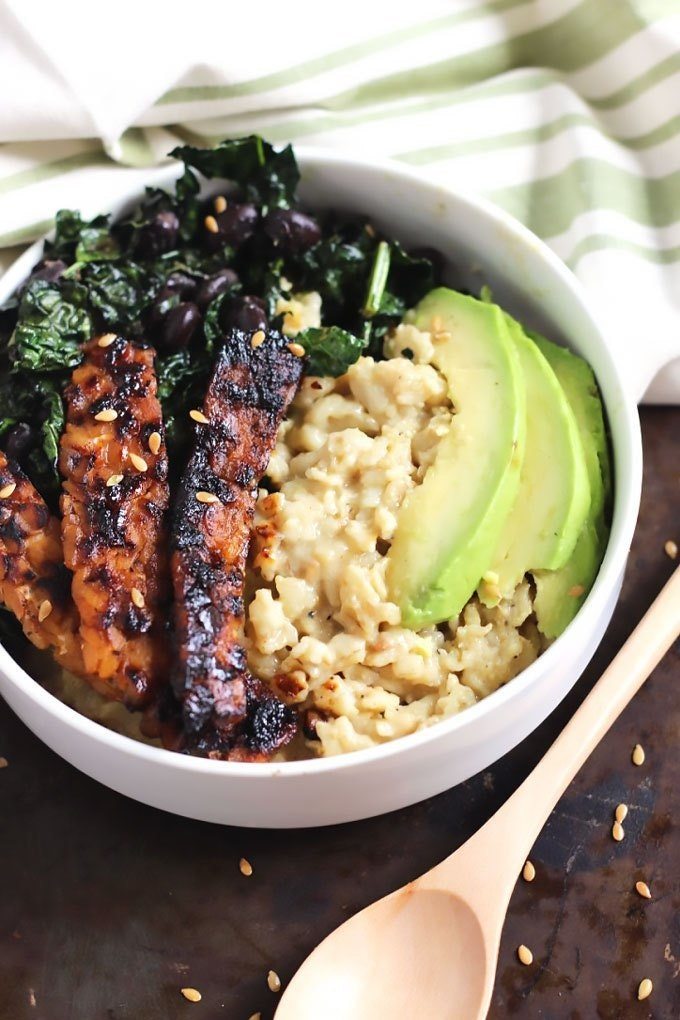 Vegan Savory Oatmeal Tempeh Bacon 6 Edit
