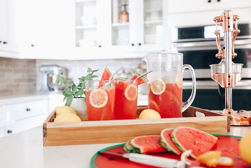 Close Out Watermelon Season with This Watermelon Lemonade