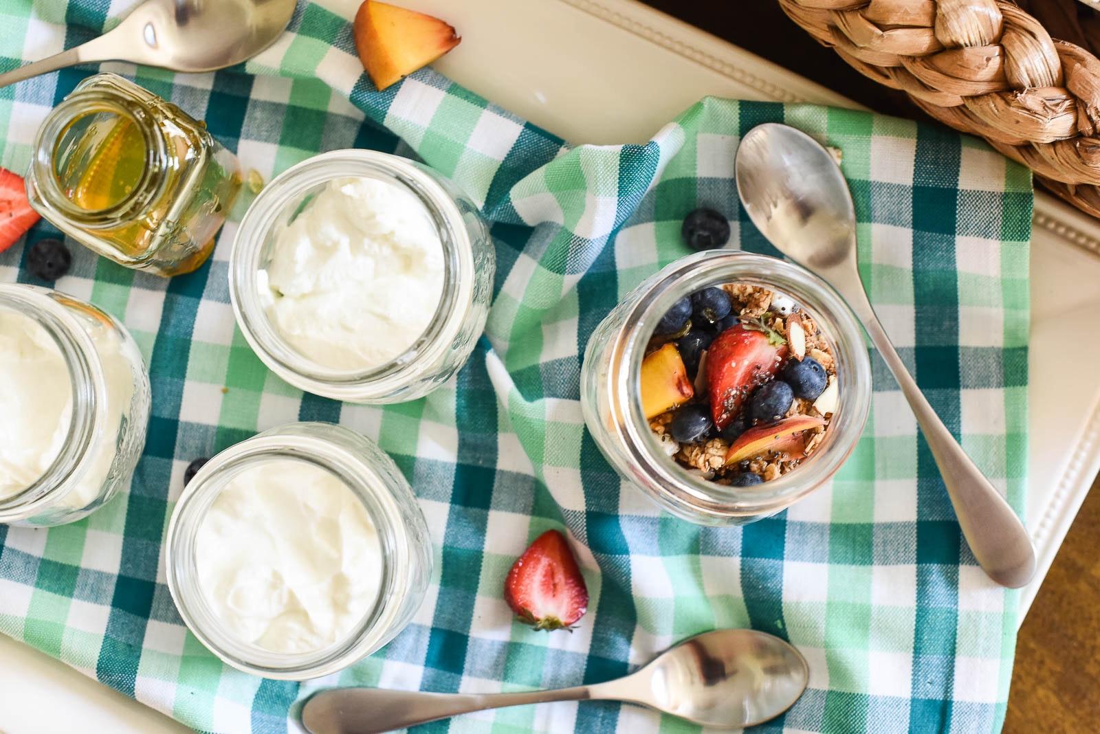 Yogurt Parfait Bar 12