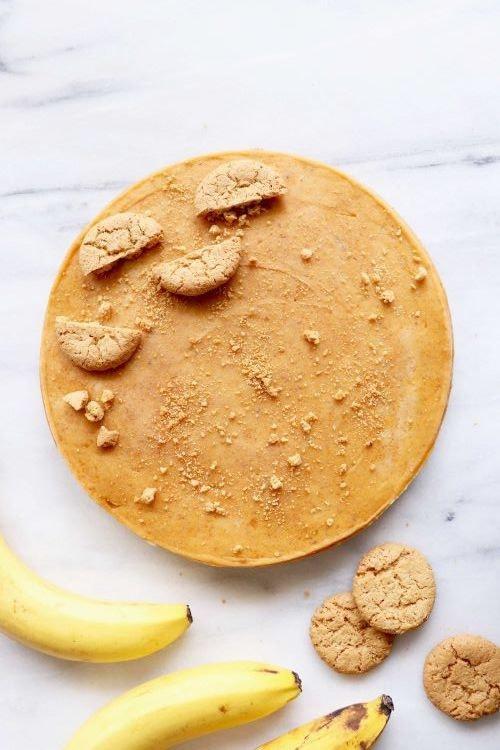 Dairy Free Healthy Gingersnap Yonanas Pumpkin Pie
