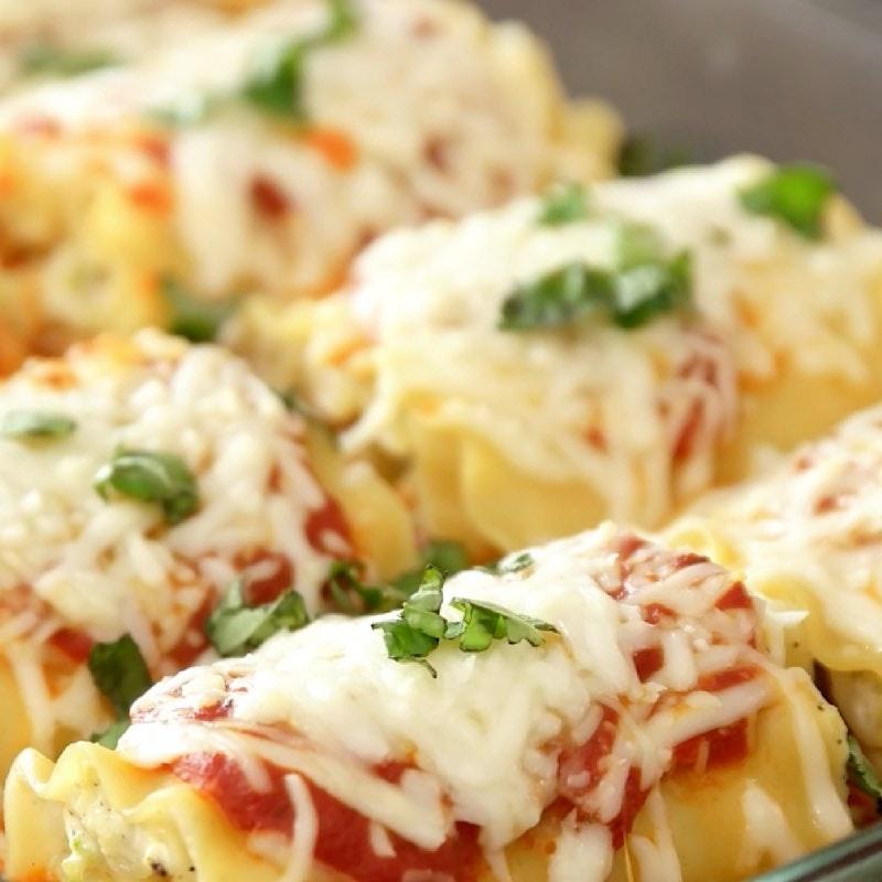 Zucchini Lasagna Roll Ups 1