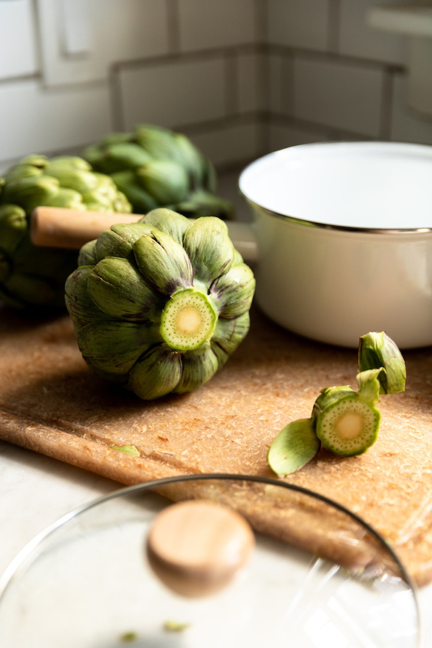 How to Trim and Steam Artichokes