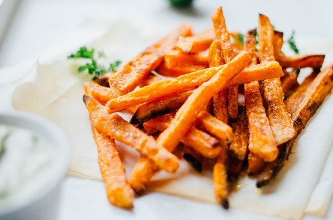Baked Sweet Potato Fries 9 Crop