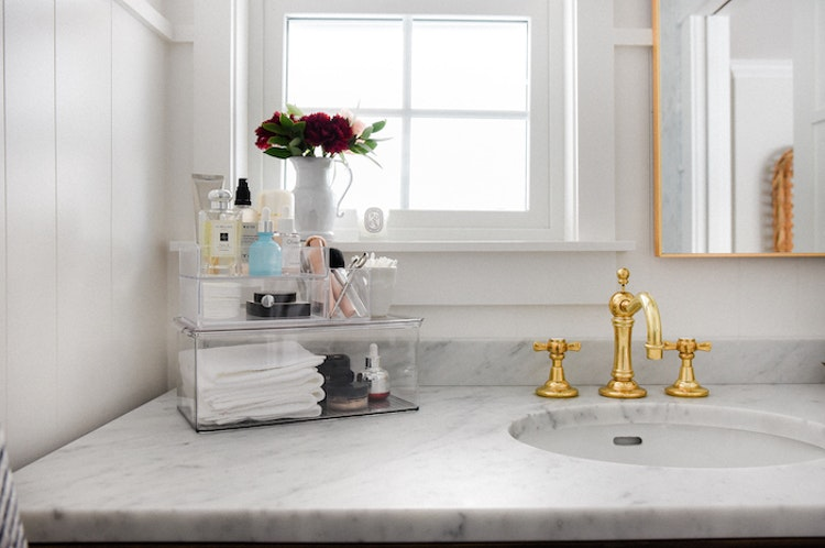 Tips For Organizing Your Bathroom Countertop The Inspired Home