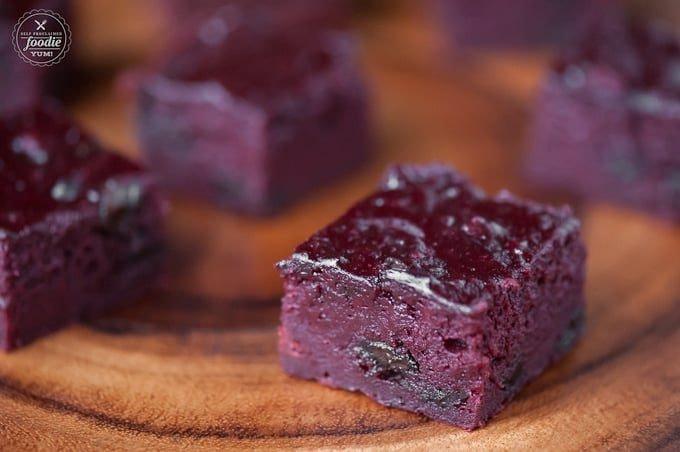 Beet Brownies Tray