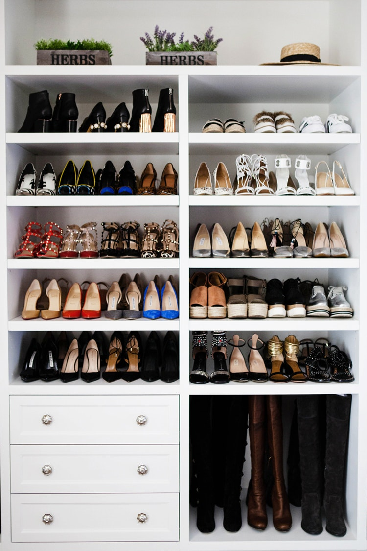 organize your shoes like a pro deborah shearer the. Black Bedroom Furniture Sets. Home Design Ideas