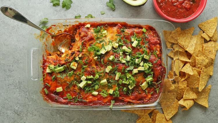 Three Sisters Enchilada Casserole Recipe