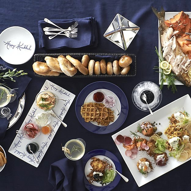 Chic And Modern Hanukkah Inspiration Inspired Home 7