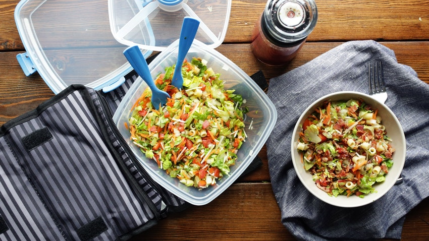 Chopped Salad Recipe with Red Wine Vinaigrette