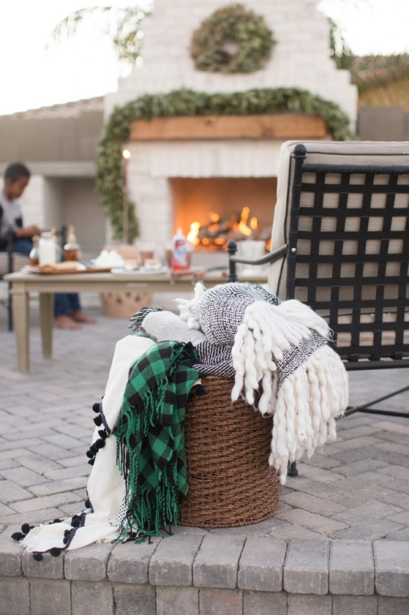 Cold Weather Outdoor Entertaining 2