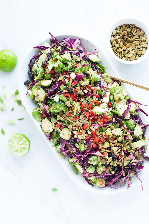 Crunchy Cabbage Detox Salad Meal Prep Recipe Loveleaf Co Web 1