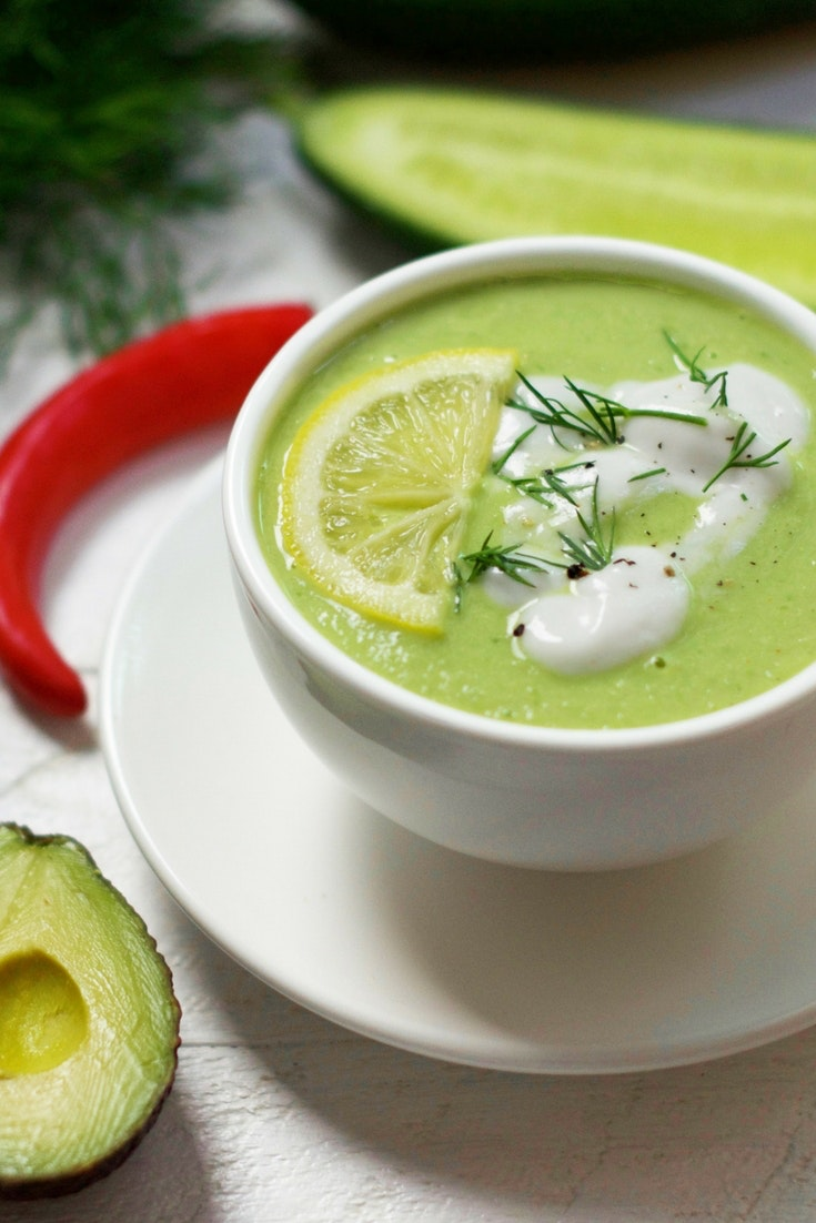 Detoxifying Green Soup