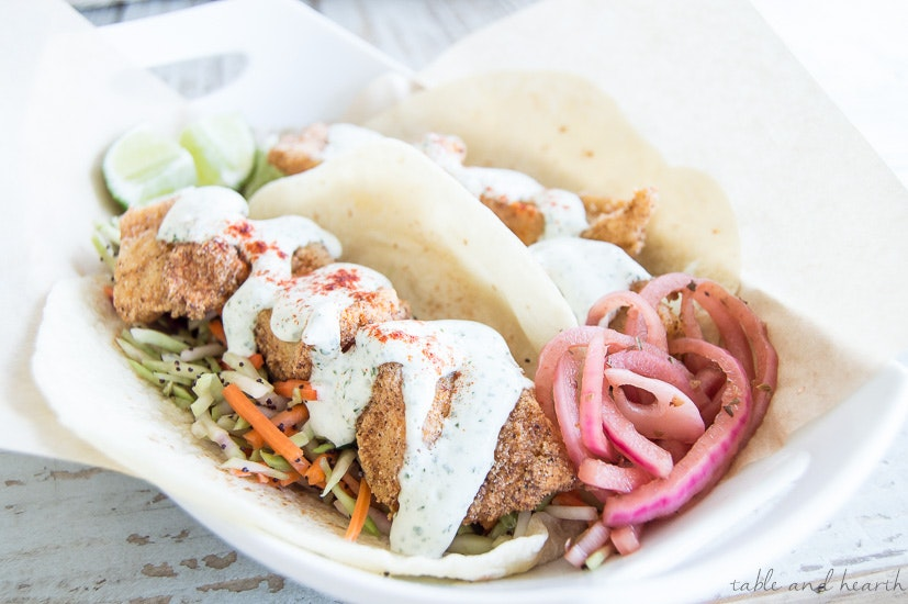 Easy And Tangy Fried Fish Tacos 15