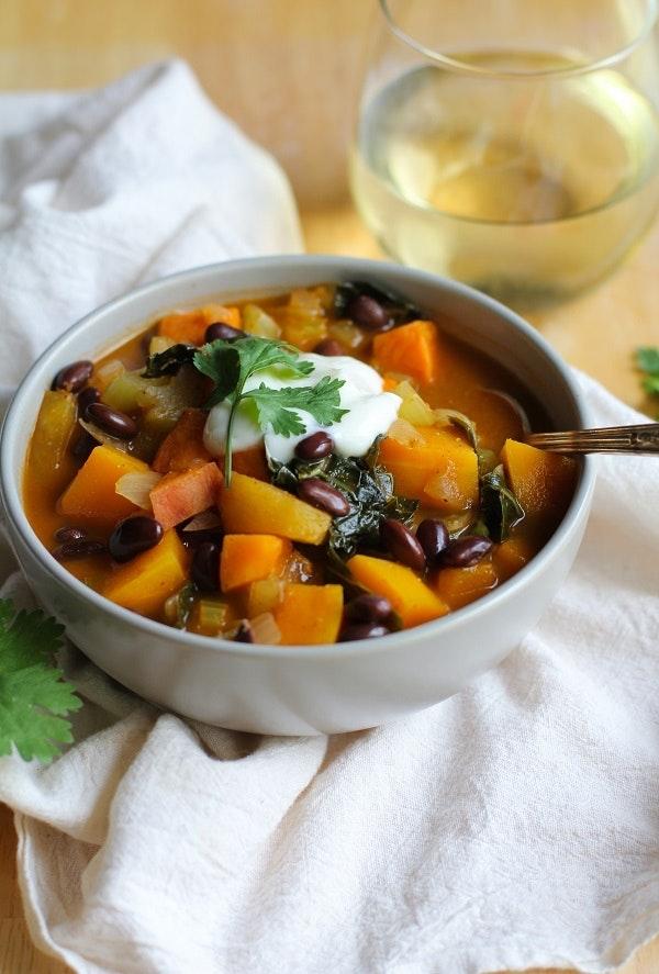 Fall Harvest Vegetarian Chili 3