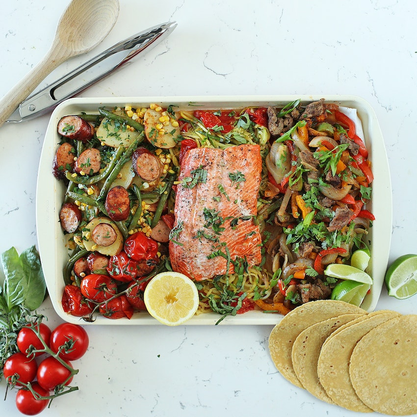 Three Easy Foil Packet Meals