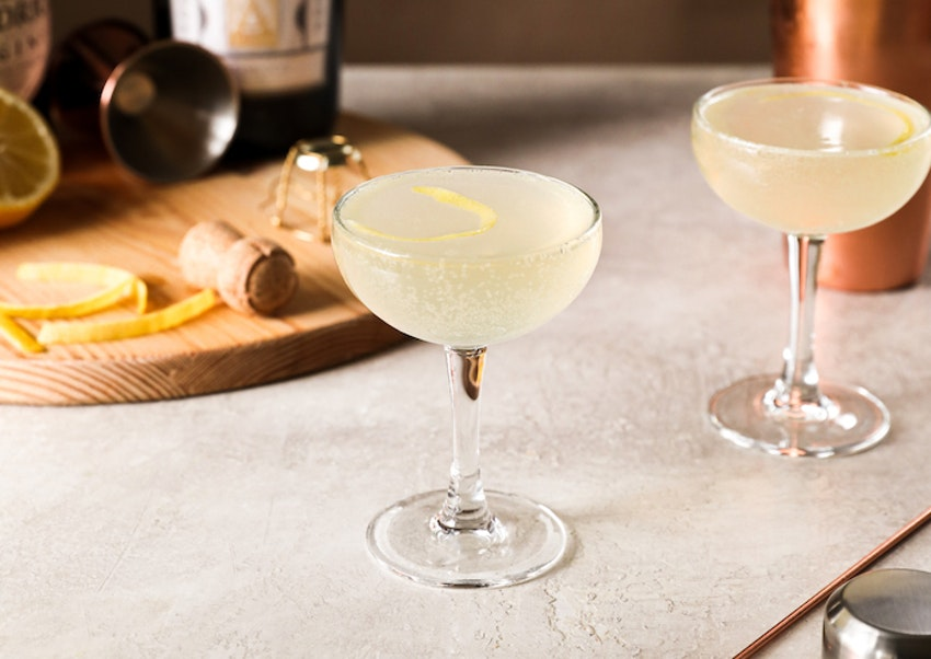 How to Make a Classic French 75