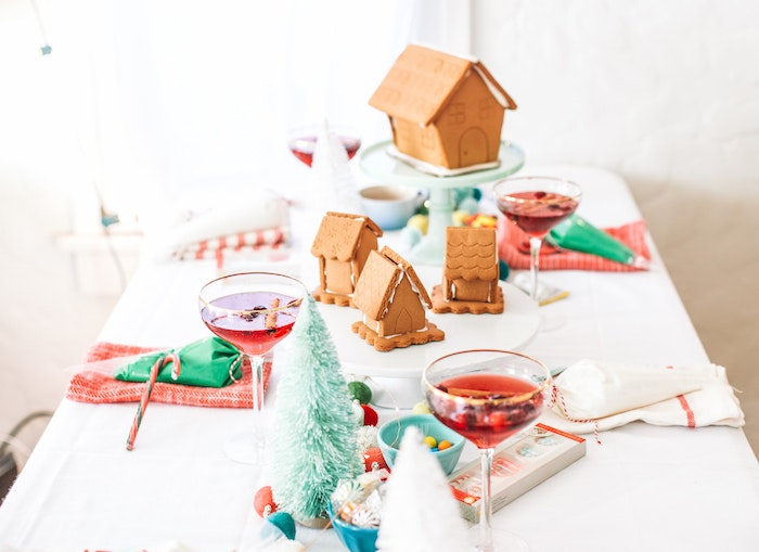 Turn Your Living Room Into a Gingerbread House Making Workshop