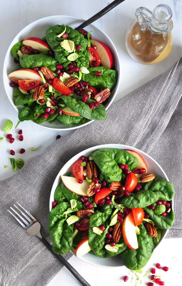 Harvest Spinach Salad 2