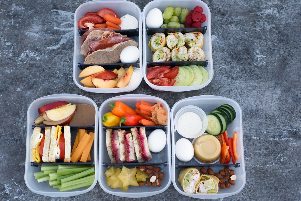 5 Staple Packable School Lunches