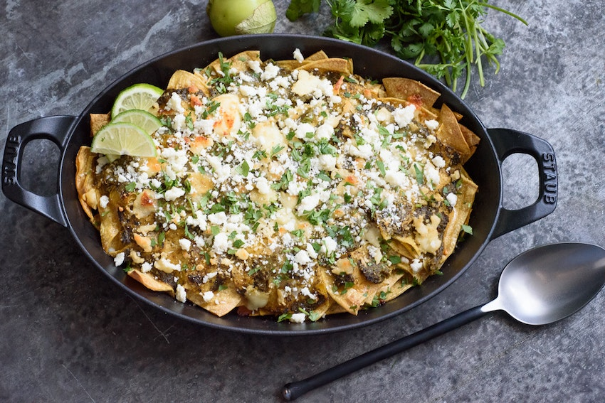 Tomatillo Chilaquiles to Spice Up Your Brunch