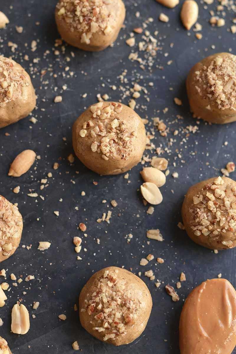Homemade Peanut Butter Protein Balls 3
