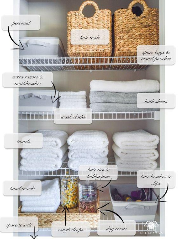 9 Ways To Organize Your Linen Closet That Ll Make You