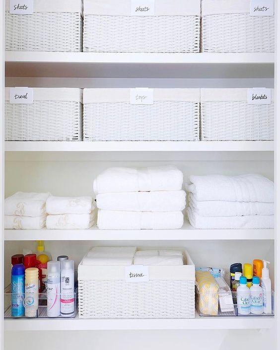 How To Organize Your Linen Closet Inspired Home 8